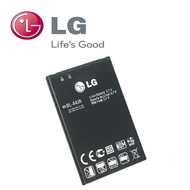 LG BL-44JR Original Battery for P940 Prada 3.0 SU880 Li-Ion akumulators, baterija mobilajam telefonam