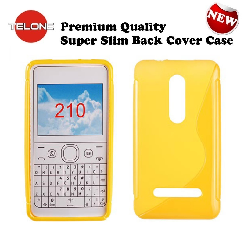 Telone Back Case S-Case gumijots telefona apvalks Nokia 210 aksesuārs mobilajiem telefoniem