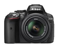 Nikon D5300 24.2Mpix 18-55 VR II Black Spoguļkamera SLR