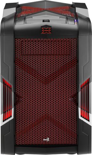 Aerocool Strike-X Cube Micro-ATX Gehause - black/rot Datora korpuss