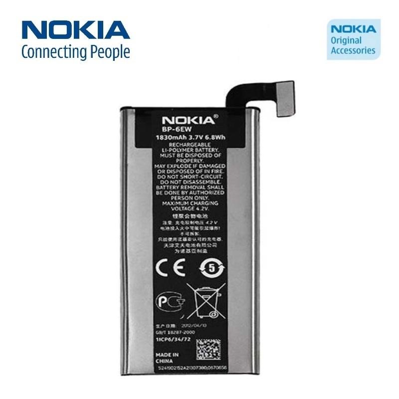 Nokia BP-6EW Original Battery for Lumia 900 Li-Ion 1830mAh ( akumulators, baterija mobilajam telefonam