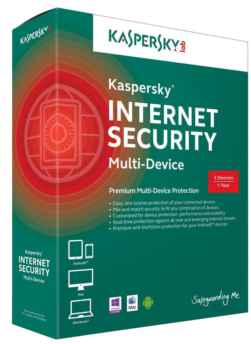 KASPERSKY Internet Security – Multi-Device 2015 3 Users 1 year Renewal