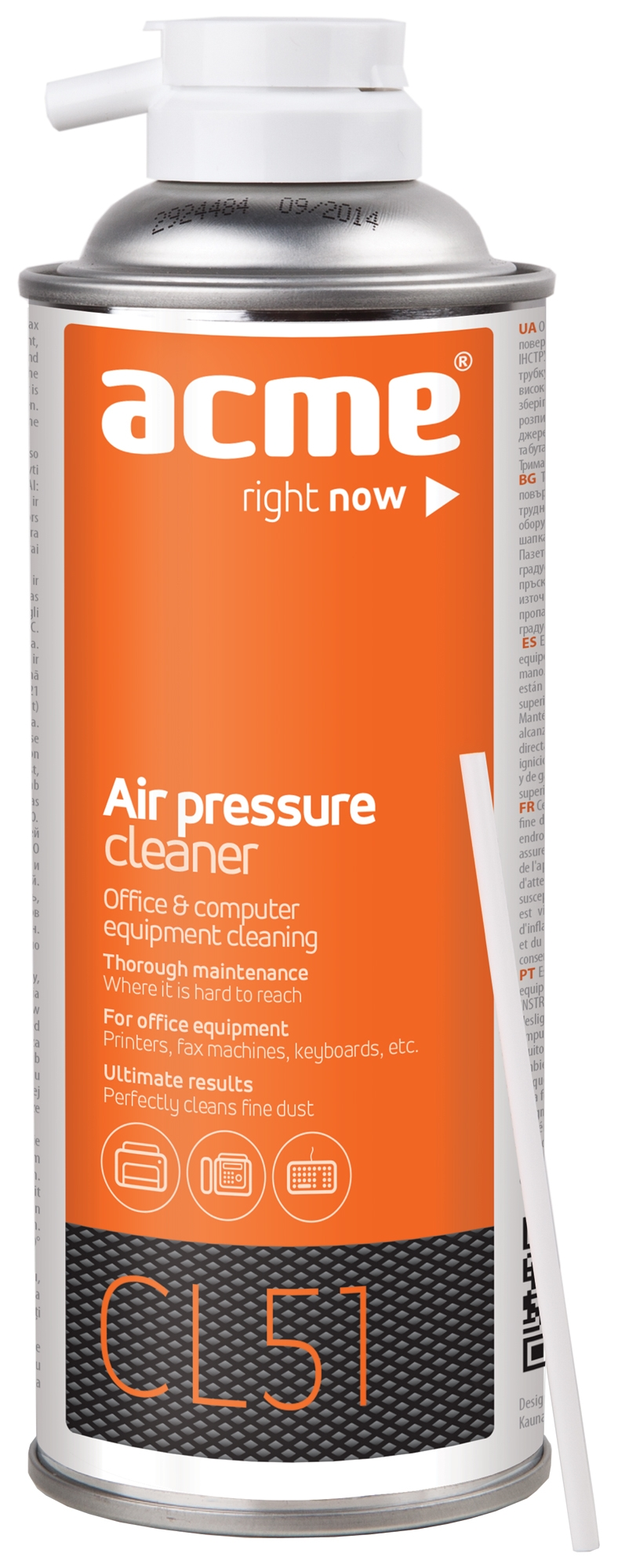 Acme CL51 Air pressure cleaning 400ml tīrīšanas līdzeklis