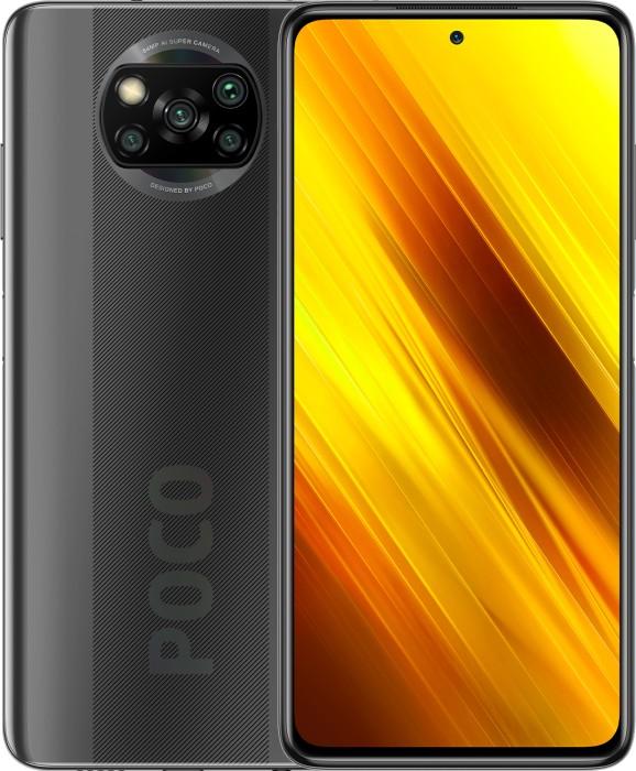 Xiaomi Poco X3 NFC 6GB/64GB Gray Mobilais Telefons