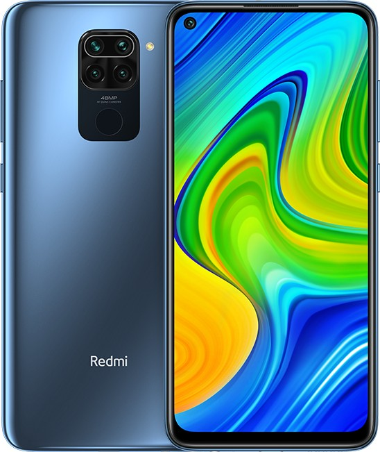 Xiaomi Redmi Note 9 - 6.53 - 128GB - Android - Midnight Grey MZB9406EU Mobilais Telefons