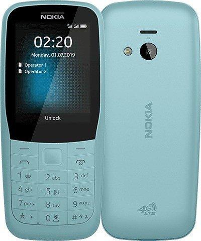 Nokia 220 4G Dual-Sim blue Mobilais Telefons