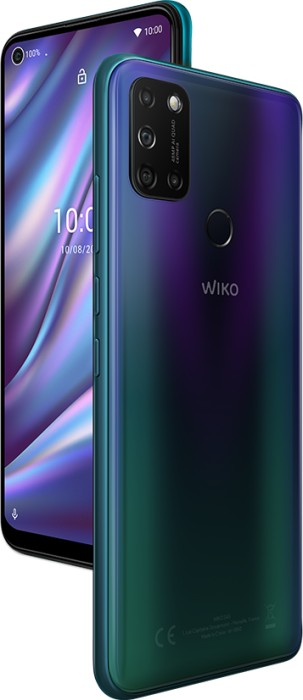 WikoVIEW5 PLUS 16.6 - 6.55 - 4 GB 128 GB Dual SIM 4G Micro-USB Blue Android 5000 mAh, Cell phone WIKVIEPLUWV8BLUST Mobilais Telefons