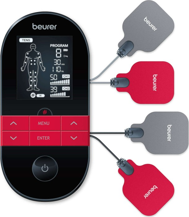 Beurer Digital TENS / EMS EM 59 Heat, massager(black / red) masāžas ierīce