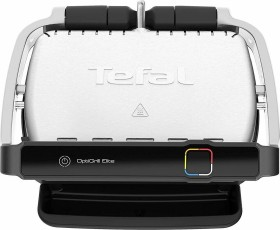 Tefal Optigrill Elite GC750D30 (Traditional with plate; 2000W; silver color) Galda Grils