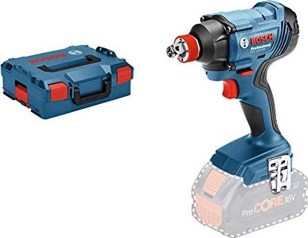 Bosch cordless impact wrench GDX 18V-180 Professional solo, 18Volt(blue / black, L-BOXX, without battery and charger)