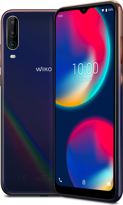 Wiko View 4 - 6.52 - 64GB, Android(Cosmic Blue) WIVIEW464DS-B Mobilais Telefons