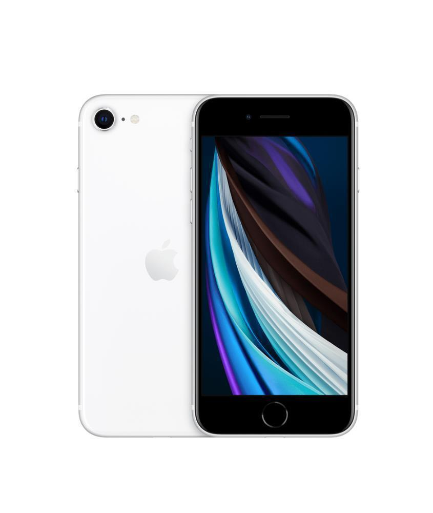 MOBILE PHONE IPHONE SE (2020)/64GB WHITE MHGQ3RM/A APPLE MHGQ3RM/A Mobilais Telefons