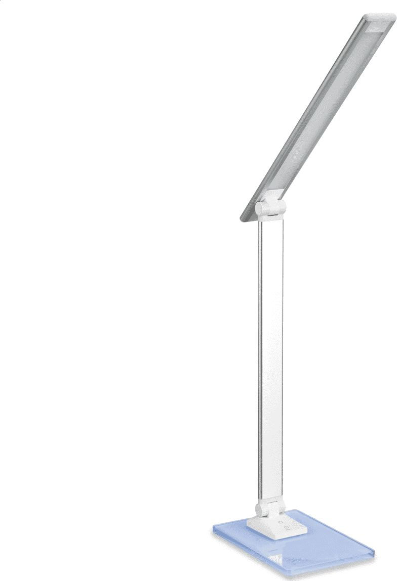 Platinet PDLX14S RGB Glass Base Special LED 6W Galda Lapma Sudraba