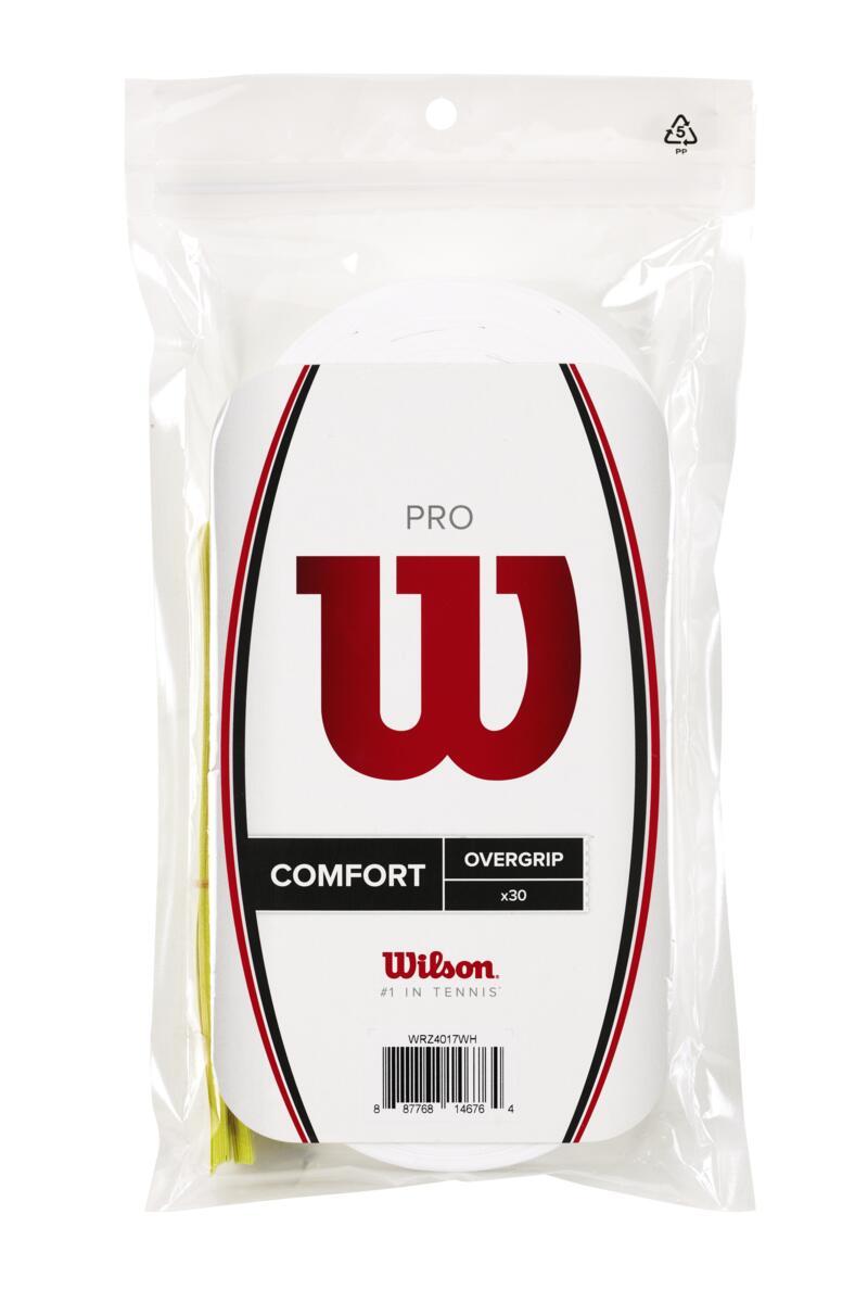 WILSON PRO OVERGRIP balts (30gb.)