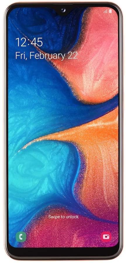 Samsung Galaxy A20e - 5.7 - 32GB, mobile phone(Coral, Dual SIM, Android) SM-A202FZODATO Mobilais Telefons