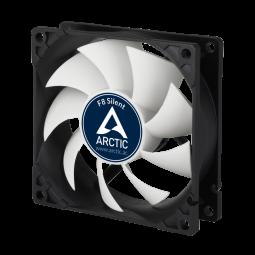 Arctic F8 Fan 8cm Silent black ventilators
