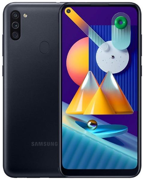 Samsung M115F/DSN Galaxy M11 Dual LTE 32GB black M115F/DSN black Mobilais Telefons