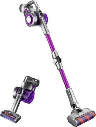 Jimmy Vacuum Cleaner JV85 Pro Cordless operating, 28.8 V, 600 W, 82 dB, Operating time (max) 70 min, Purple/Grey, Warranty 24 month(s), 12 m Putekļu sūcējs