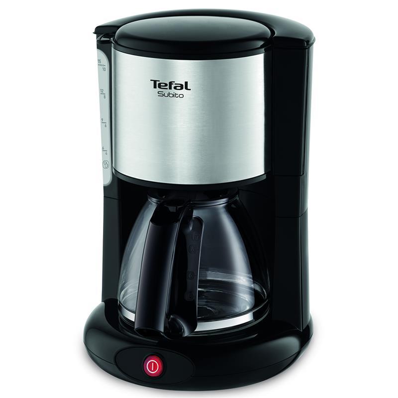 Tefal CM360830 Coffee machine, Tefal, black-inox Kafijas automāts