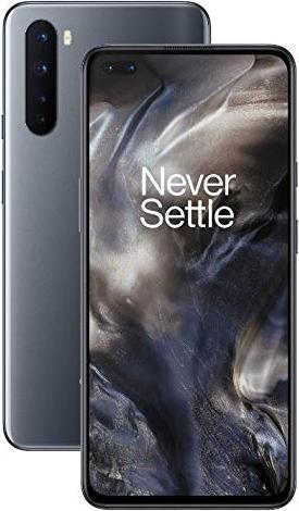 OnePlus Nord - 6.44 - 256GB, Mobile Phone (Grey Onyx, Android 10, 12 GB DDR4X) 5011101200 Mobilais Telefons