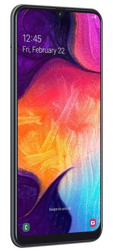 "Samsung Galaxy A50 SM-A505F 16.3 cm (6.4"") Dual SIM 4G USB Type-C 4 GB 128 GB 4000 mAh Black 8806090176098 SM-A505FZKSE33 Mobilais Telefons"