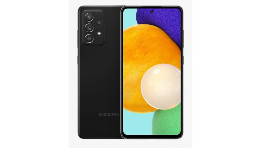 Samsung Galaxy A52 128GB Black Mobilais Telefons