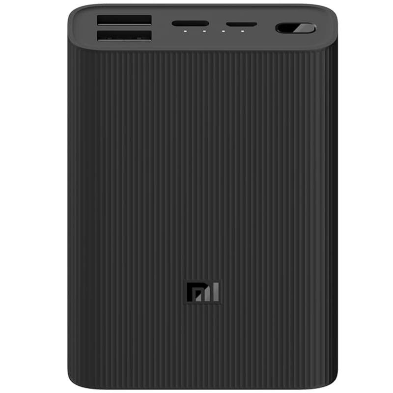 Xiaomi Mi Power Bank 3 Ultra Compact 10000 mAh, Black Powerbank, mobilā uzlādes iekārta
