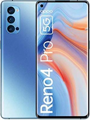 Oppo Reno4 Pro - 6.55 - 5G 256 / 12GB Galactic Blue 5983768 Mobilais Telefons