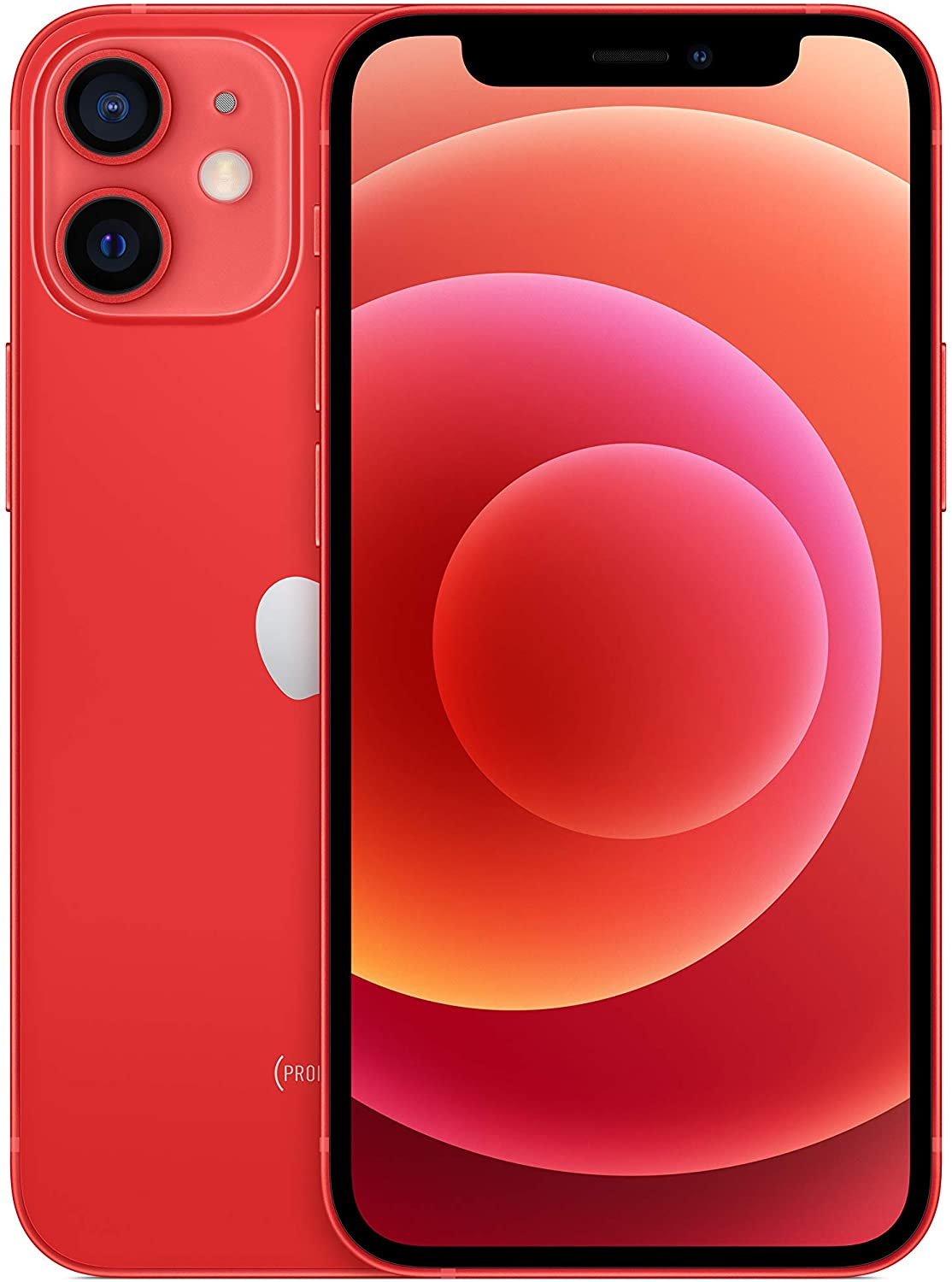 Apple iPhone 12 mini 64GB, Handy (Product Red, iOS) MGE03ZD/A Mobilais Telefons