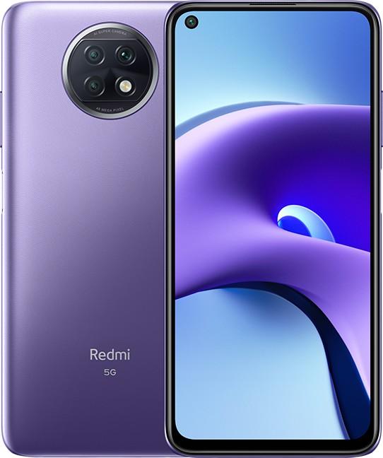 Xiaomi Redmi Note 9T - 6.53 - 128GB, mobile phone (Daybreak Purple, Android, Dual SIM, 4 GB DDR4X) MZB084OEU Mobilais Telefons