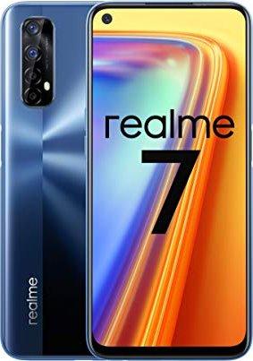Realme 7 - 6.5 - 128GB - Android - mist blue 6941399022133 Mobilais Telefons