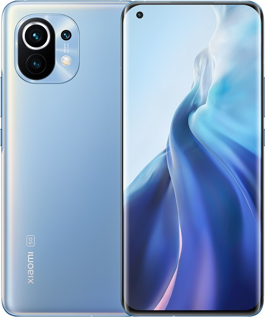 Xiaomi Mi 11 Dual SIM - 6.81 - Android - 256GB / 8GB blue MZB08JGEU Mobilais Telefons