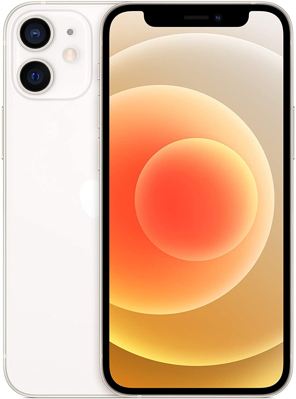 Apple iPhone 12 mini 128GB weis (Super Retina XDR Display, 5G, 4K Videoaufnahme, MGE43ZD/A) Mobilais Telefons