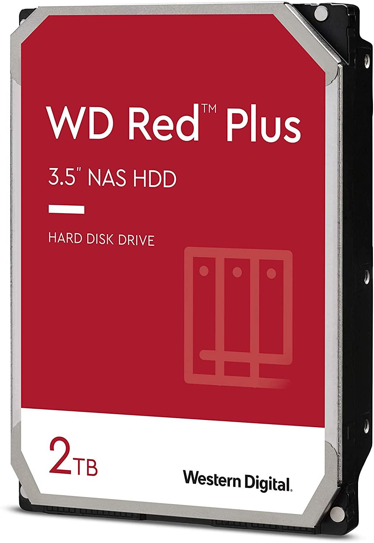 WD Red Plus 2TB SATA 6Gb/s 3.5i HDD cietais disks
