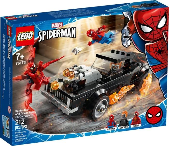 LEGO Super Heroes S.M. & G.R. vs. Carnag - 76173 LEGO konstruktors