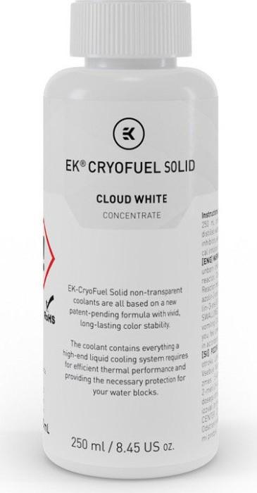 EK Water Blocks EK-CryoFuel Solid Konzentrat, Cloud White - 250m ūdens dzesēšanas sistēmas piederumi