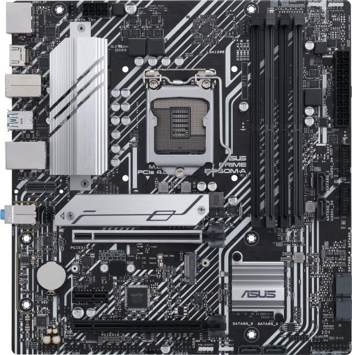 ASUS PRIME B560M-A Intel Socket LGA1200 pamatplate, mātesplate