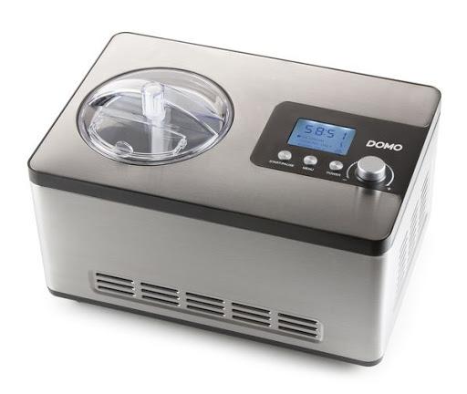 Domo ice cream maker DO9207I silver DO9207I