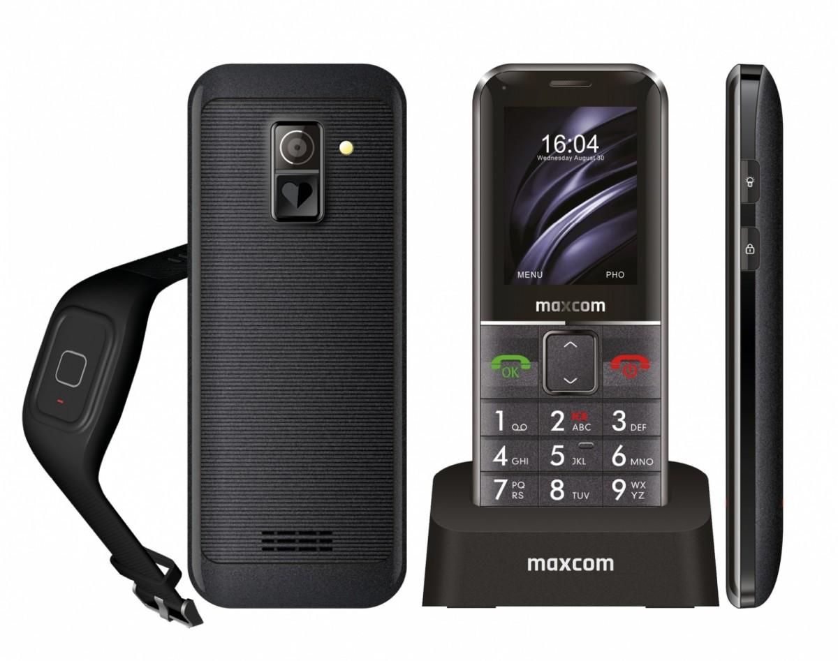 Telephoe Maxcom MM 735B Comfort + band SOS Mobilais Telefons
