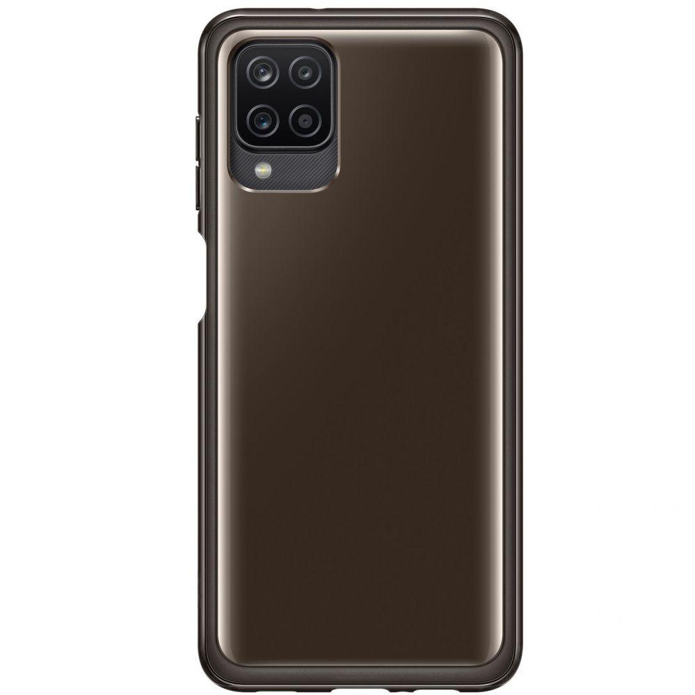 SAMSUNG Soft Clear Cover Galaxy A12 blk