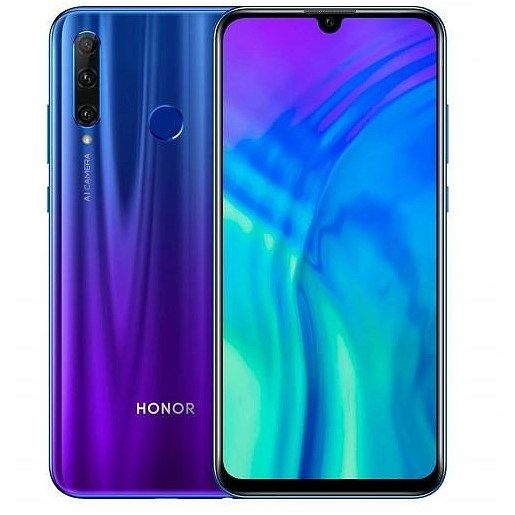 Huawei  Honor 20 lite 4/128GB DS Phantom Blue HUAHO20LI128GBBL Mobilais Telefons