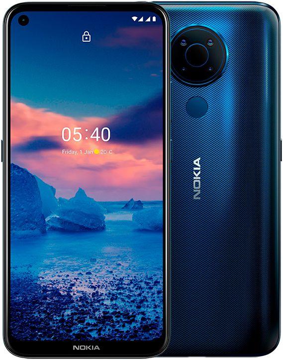 Nokia 5.4 4GB/64GB Blue Mobilais Telefons