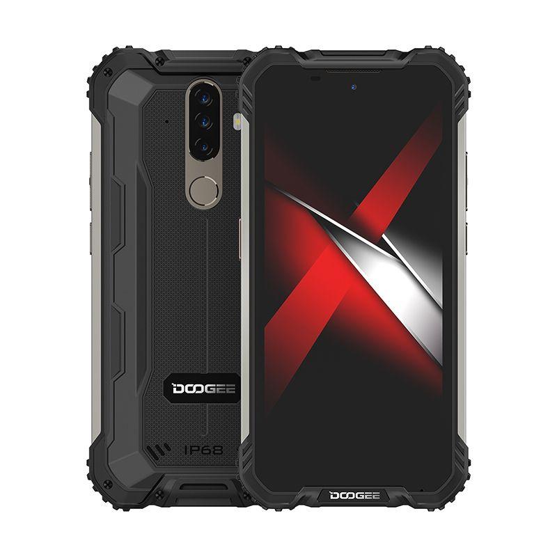 DOOGEE  S58 Pro 6/64GB Mineral Black S58P6/64MB Mobilais Telefons