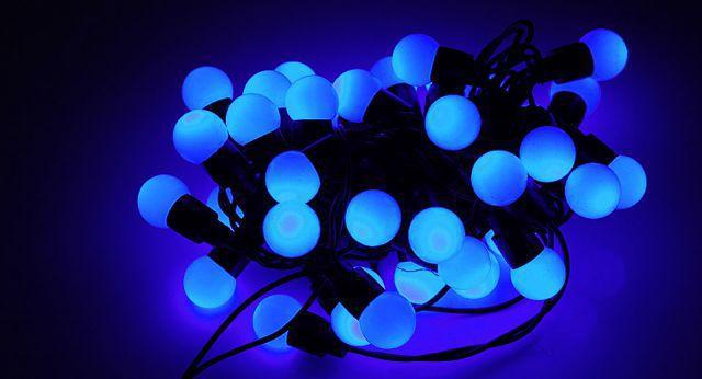 N/A 100 LED 10m. mini-bumbiņas RS-705B  Blue