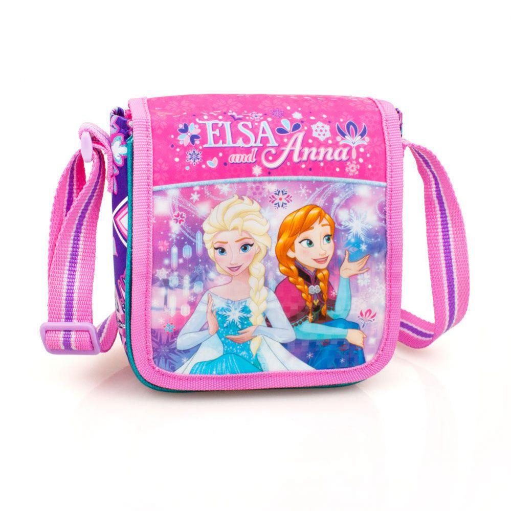 Frozen Premium Plecu soma meitenēm Elsa&Anna 59106  Pink Skolas somas un penāļi