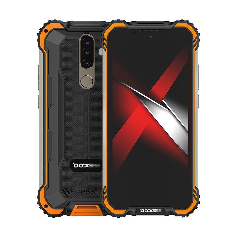DOOGEE  S58 Pro 6/64GB Fire Orange Mobilais Telefons