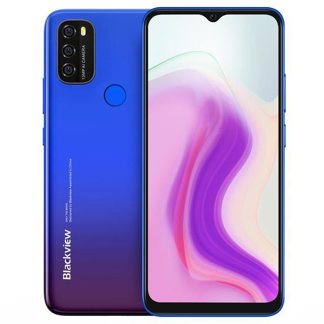 Blackview  A70 3/32GB (ENG/RUS) Twilight Blue BLKWA70TB Mobilais Telefons