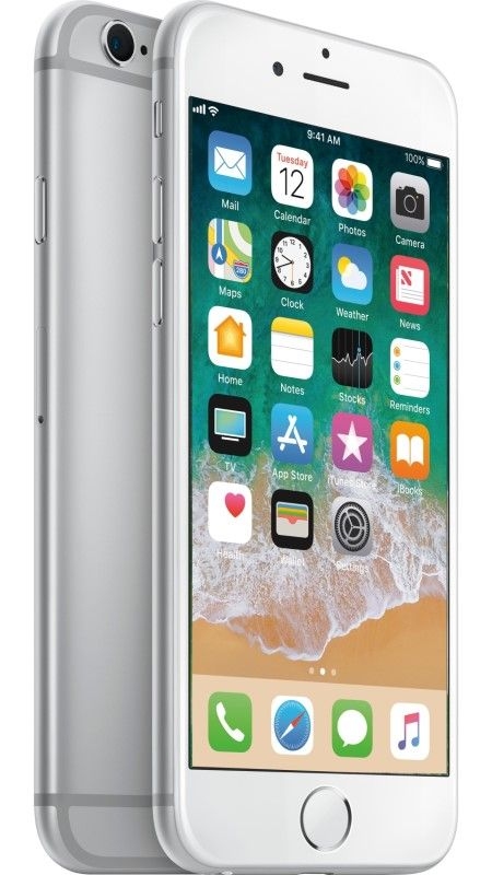 Apple  iPhone 6s 64GB AB Grade Used Silver MKQP5J/A Mobilais Telefons