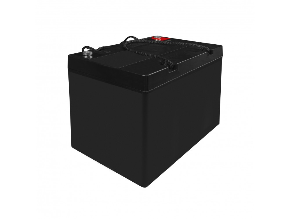 AGM Battery Lead Acid 12V 55Ah Maintenance Free Green Cell for boat and dinghy UPS aksesuāri