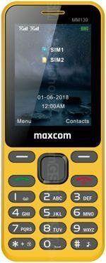 Telefon komorkowy Maxcom TELEFON KOMORKOWY MAXCOM MM139 ZOLTY standard 6613204 Mobilais Telefons